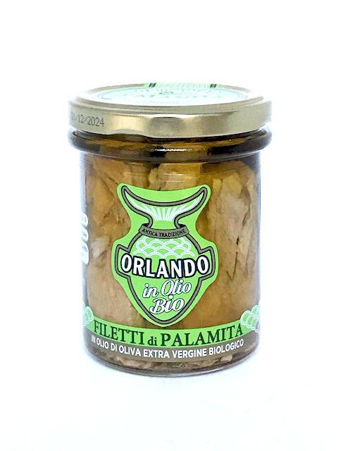 Filetti di palamita in olio extra bio